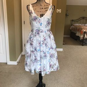 Maeve for Anthropologie floral dress, size 8
